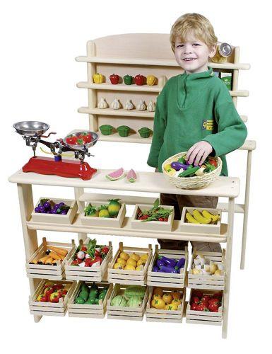 b445b70e0e ... Drewniany sklep dla dzieci
