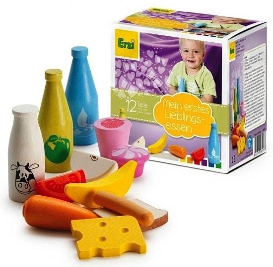 Produkty Spożywcze Dla Dzieci 12 Elementów 28023 Erzi Zabawy W