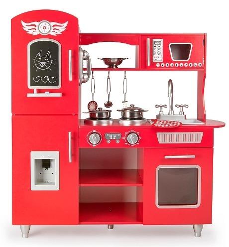 Drewniana Duża Kuchnia Dla Dzieci Piekielne Gotowanie Z Dźwiękiem 246218 Kuchnie Dziecięce