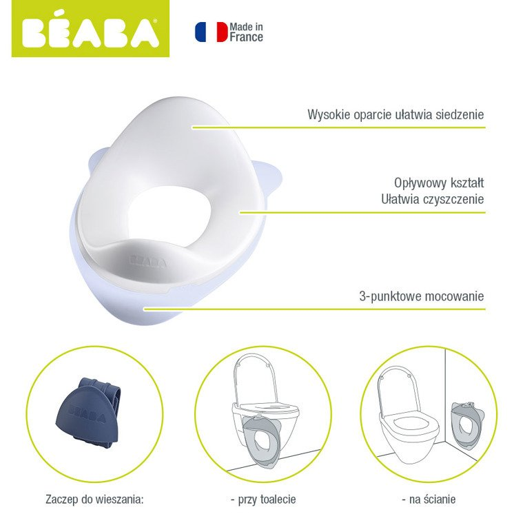 Beaba Nakładka Na Sedes Mineral 920295 Beaba Akcesoria łazienkowe