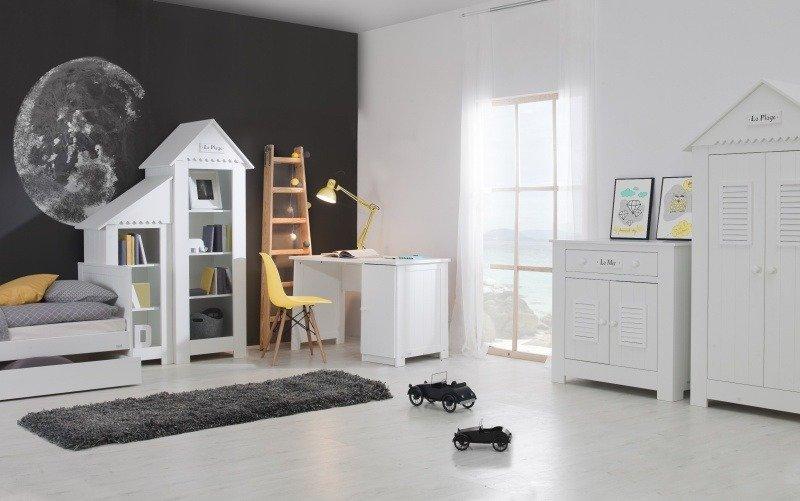 Biała Kolekcja Pinio Marsylia Mdf Zestaw Mebli Do Pokoju Dziecięcego Iii