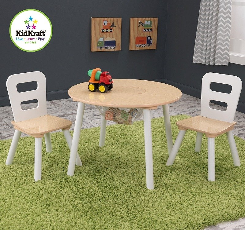 Biały Stolik Dla Dzieci I Dwa Krzesełka Kidkraft Meble Do Pokoju Dziecięcego