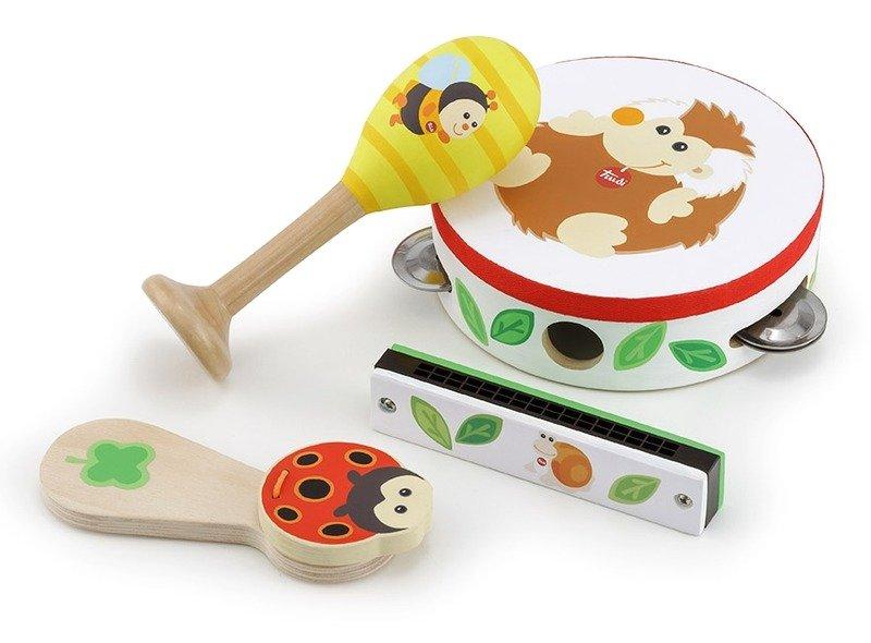 Drewniane instumenty dla dzieci Magia muzyki 88005 Trudi by Sevi, zabawki muzyczne