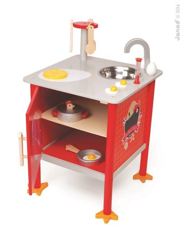French Cocotte Mala Francuska Kurka Czerwona Kuchnia Dla Dzieci Z