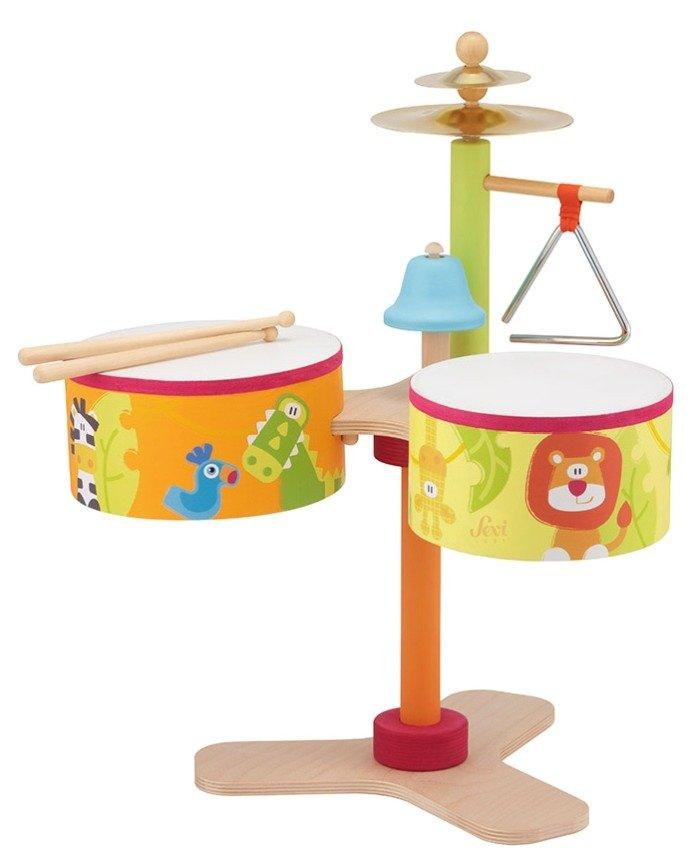Instrumenty Muzyczne Dla Dzieci Perkusja Sawanna 83043 Sevi Zabawki Kreatywne
