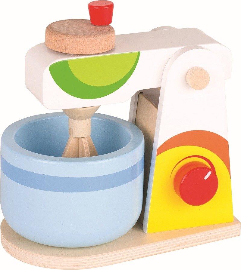 Kolorowy Robot Kuchenny Z Drewna 51584 Goki Mała Kuchnia Dla Dzieci