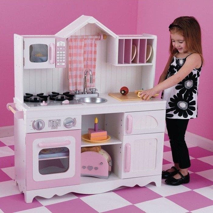 kuchnia drewniana nowoczesno kidkraft kuchnie dla dzieci. Black Bedroom Furniture Sets. Home Design Ideas