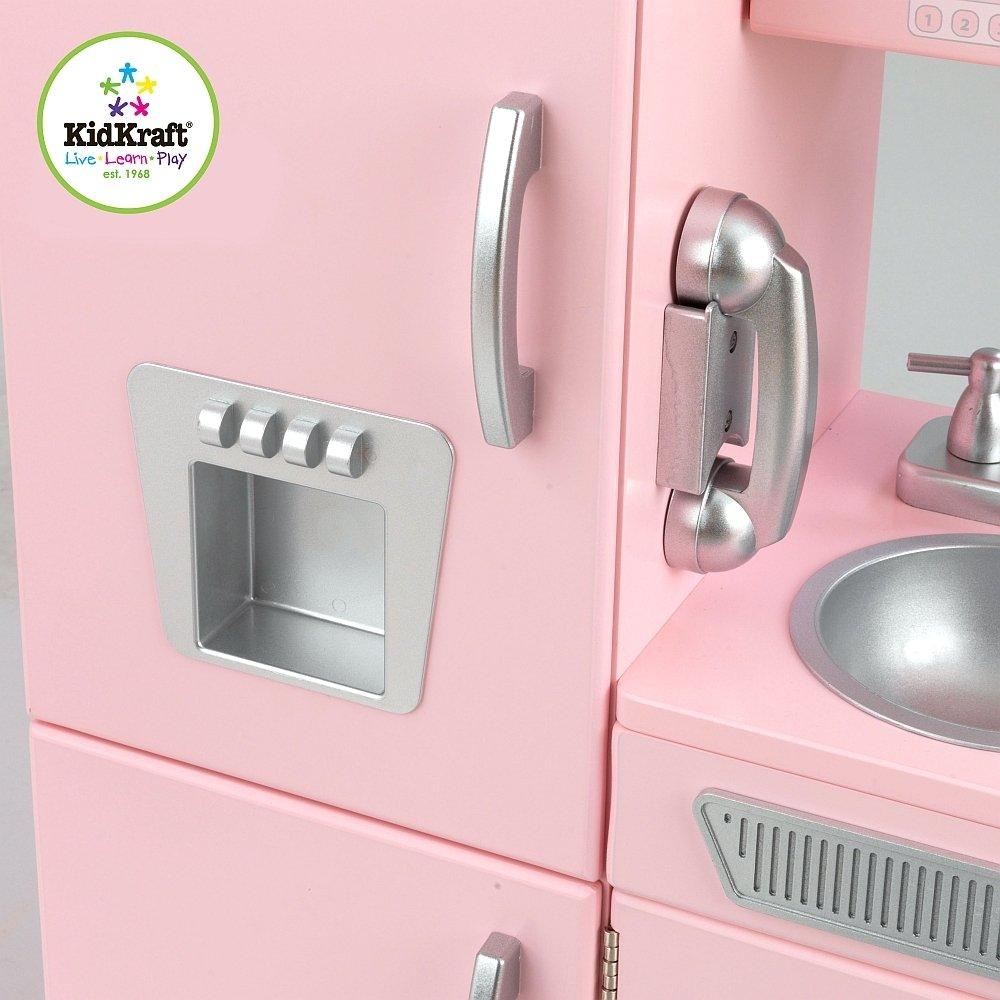 Kuchnia Drewniana Różowy Vintage Kidkraft Kuchnie Dla Dzieci