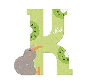 Mały alfabet Głoska K ptak kiwi 83011-Sevi, Literki dla dzieci ...