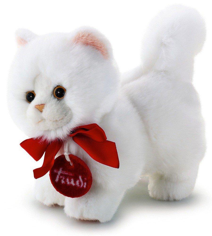 Mały Pluszak Biały Kot Perski Trudini 15 Cm 51035 Trudi