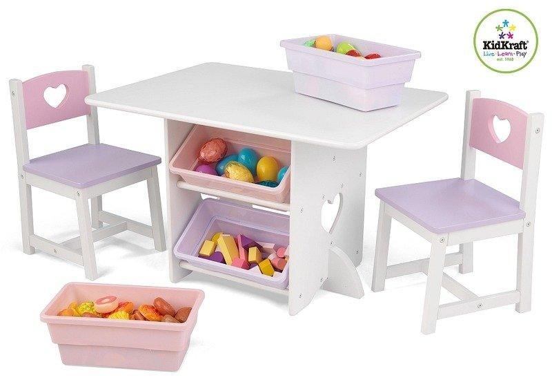 Stolik Dla Dzieci I Dwa Krzesełka, KidKraft