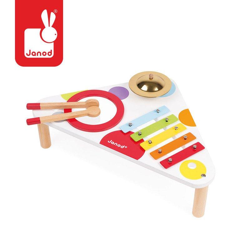 Stolik Interaktywny Confeti J07634 Janod Instrumenty Muzyczne Dla Dzieci