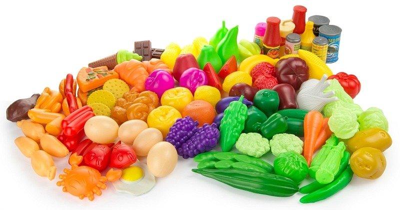 Zestaw Produktów Spożywczych Do Zabawy W Gotowanie 82 Elementy
