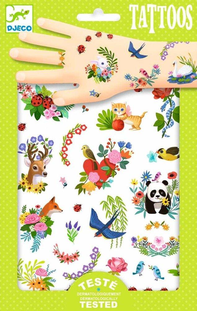 Zmywalne Tatuaże Dla Dzieci Wiosenny Powiew Dj09591 Djeco Tatuaże